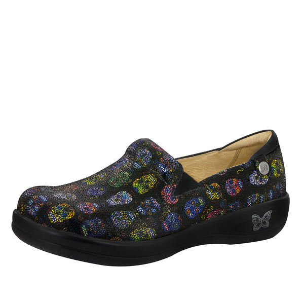 Keli Sugar Skulls Dottie Professional Shoe - Alegria Shoes - 1