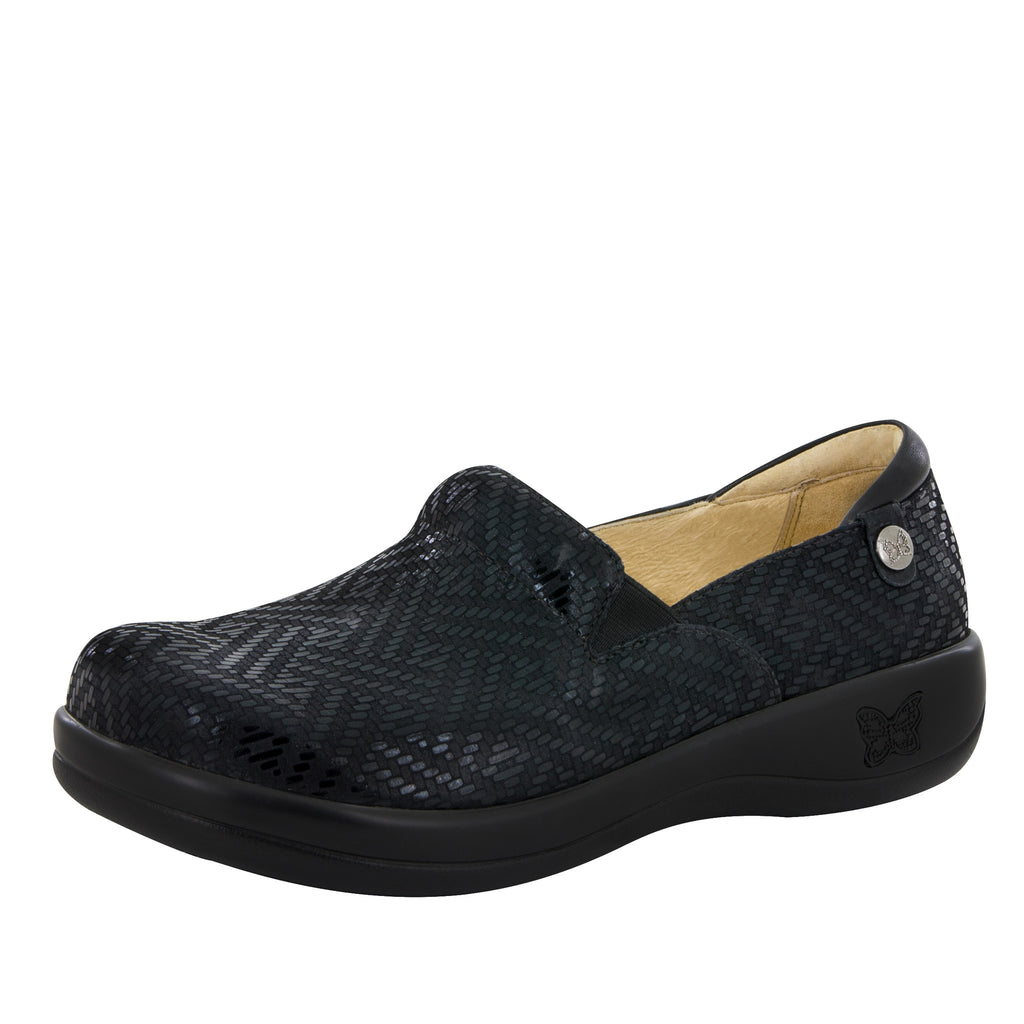 Keli Black Dazzler Professional Shoe - Alegria Shoes - 1