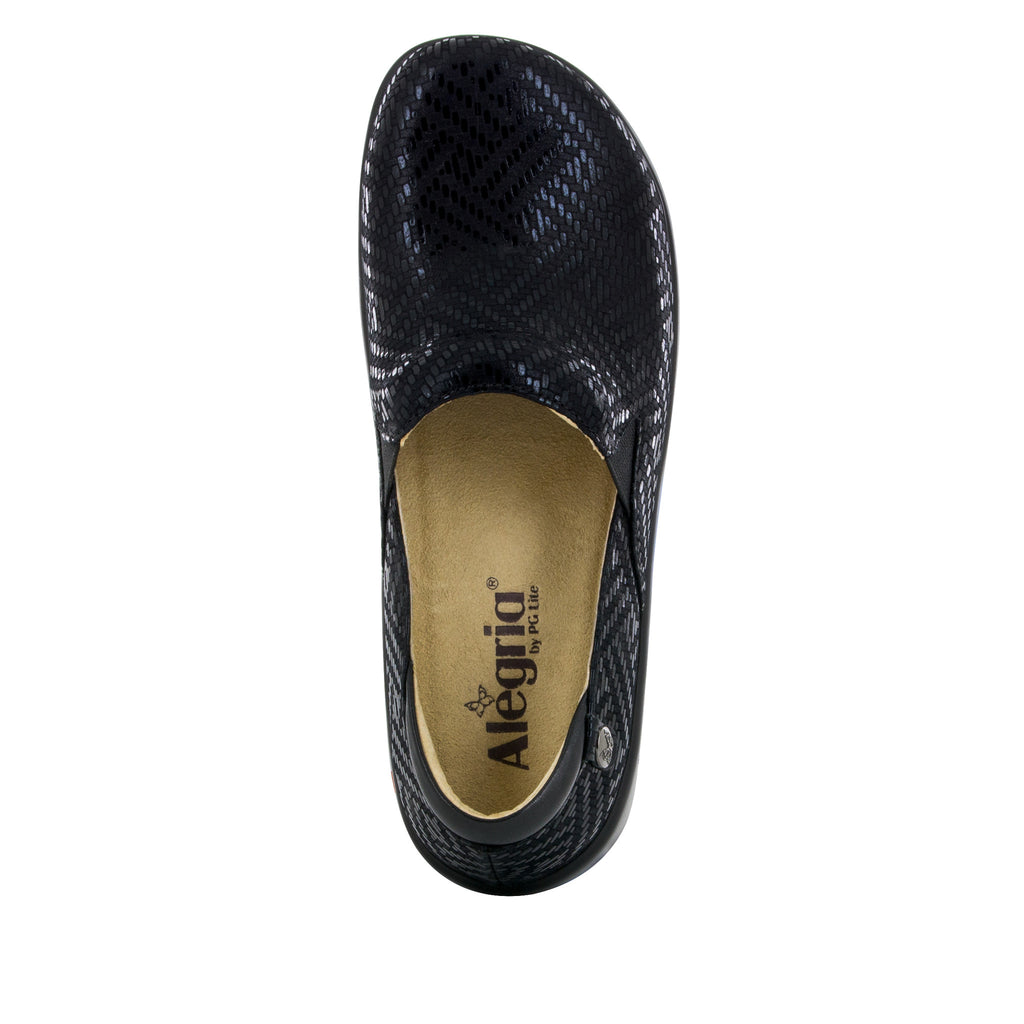 Keli Black Dazzler Professional Shoe - Alegria Shoes - 5