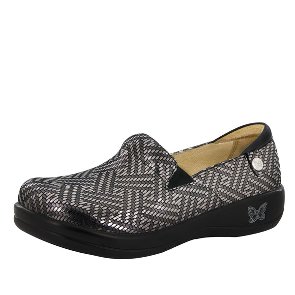 Keli Pewter Dazzler Professional Shoe - Alegria Shoes - 1