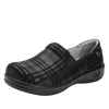 Keli Plaid To Meet You slip on style shoe with career casual outsole - KEL-597_S1