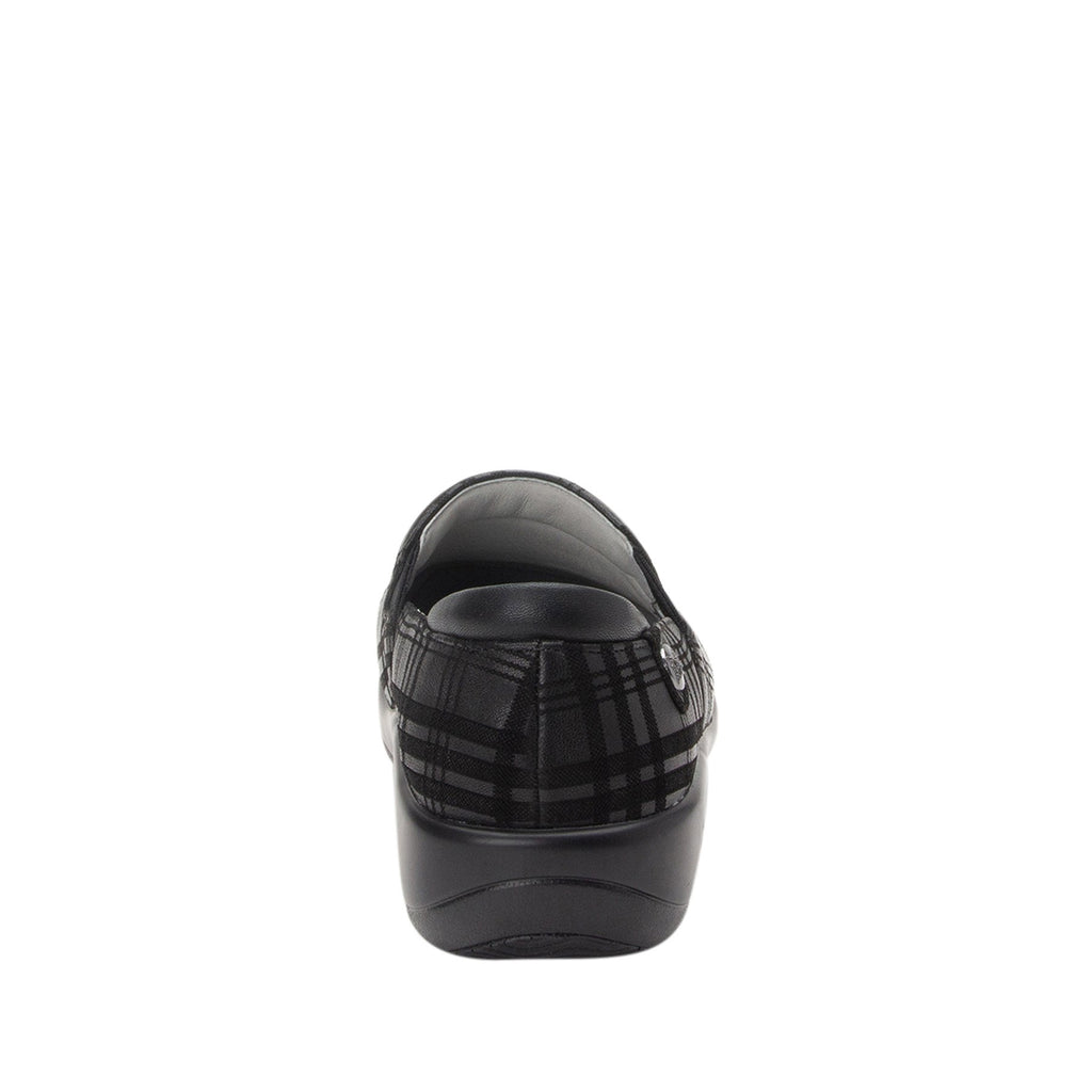 Keli Plaid To Meet You slip on style shoe with career casual outsole - KEL-597_S3