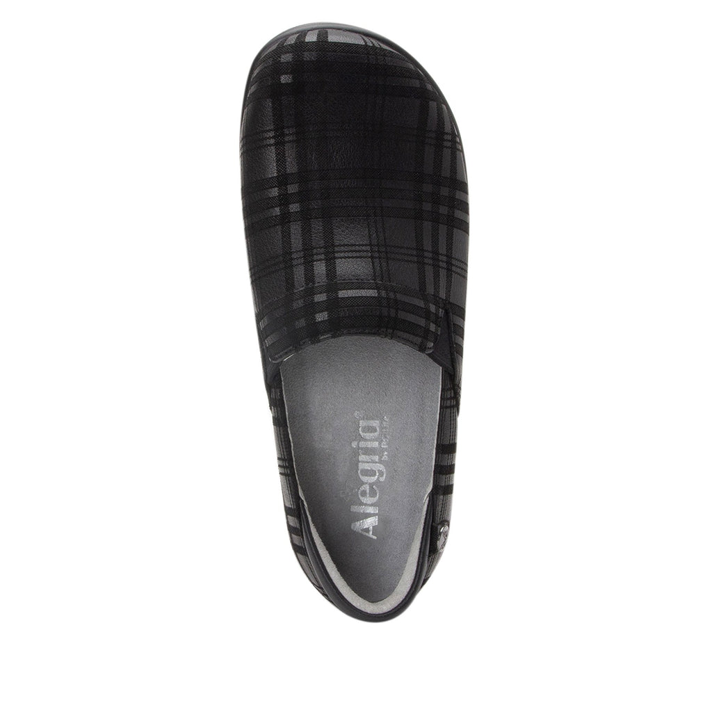 Keli Plaid To Meet You slip on style shoe with career casual outsole - KEL-597_S4