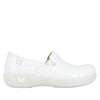 Keli White Waxy Professional Shoe - Alegria Shoes - 2