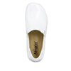 Keli White Waxy Professional Shoe - Alegria Shoes - 4