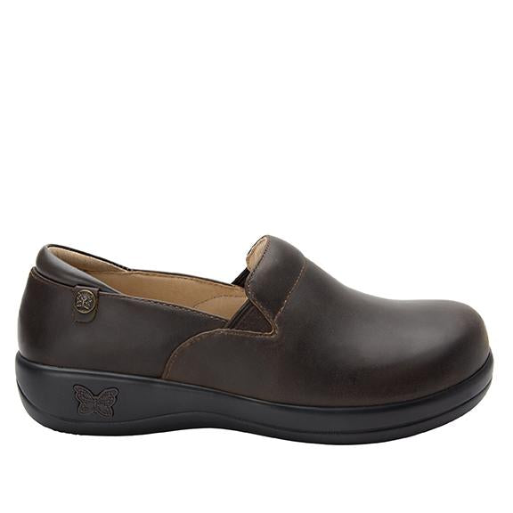 Keli Oiled Brown slip on style shoe with career casual outsole - KEL-6201_S2