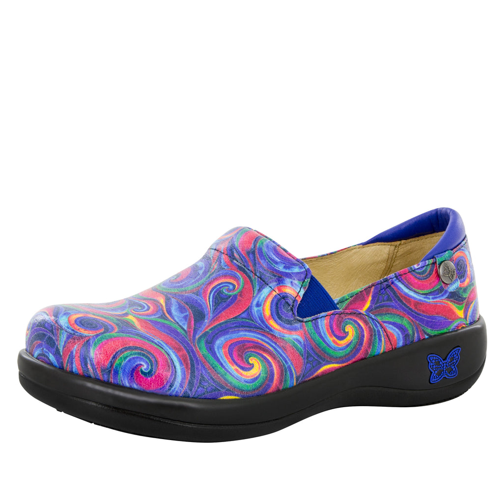 Keli Swirly Goodness Professional Shoe - Alegria Shoes - 1