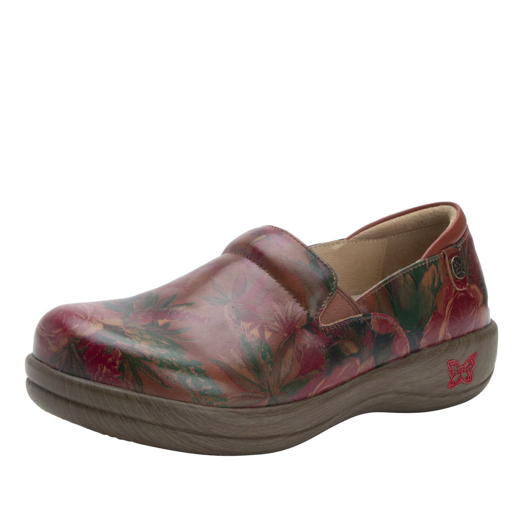 Keli Southwestern Romance slip on style shoe with career casual outsole - KEL-7716_S1
