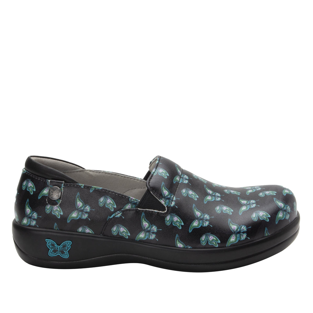 Keli Butterfly slip on style shoe with career casual outsole - KEL-7720_S2
