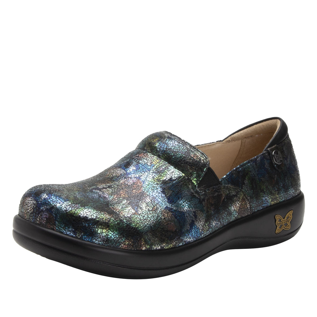 Keli Fan Flare slip on style shoe with career casual outsole - KEL-7721_S1