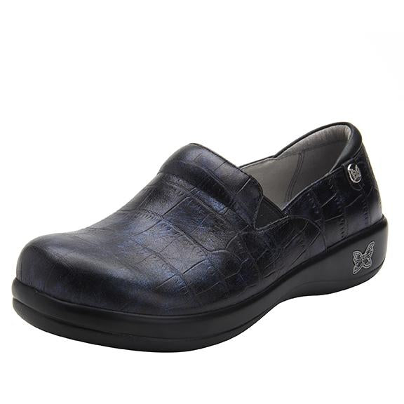 Keli Croco Noche slip on style shoe with career casual outsole - KEL-7815_S1