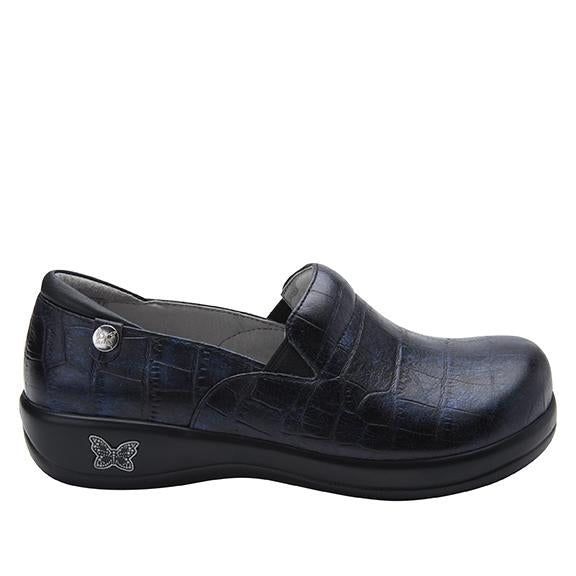 Keli Croco Noche slip on style shoe with career casual outsole - KEL-7815_S2