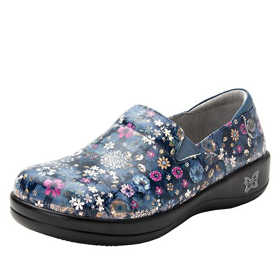 Keli Flora Fusion slip on style shoe with career casual outsole - KEL-7840_S1