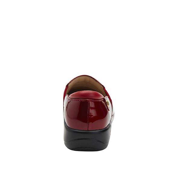 Keli Cherry Bomb Patent slip on style shoe with career casual outsole - KEL-7844_S3
