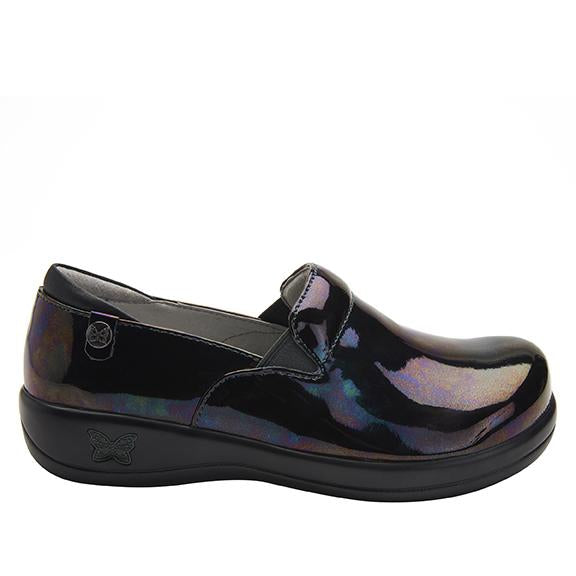 Keli Slickery Patent slip on style shoe with career casual outsole - KEL-7845_S2