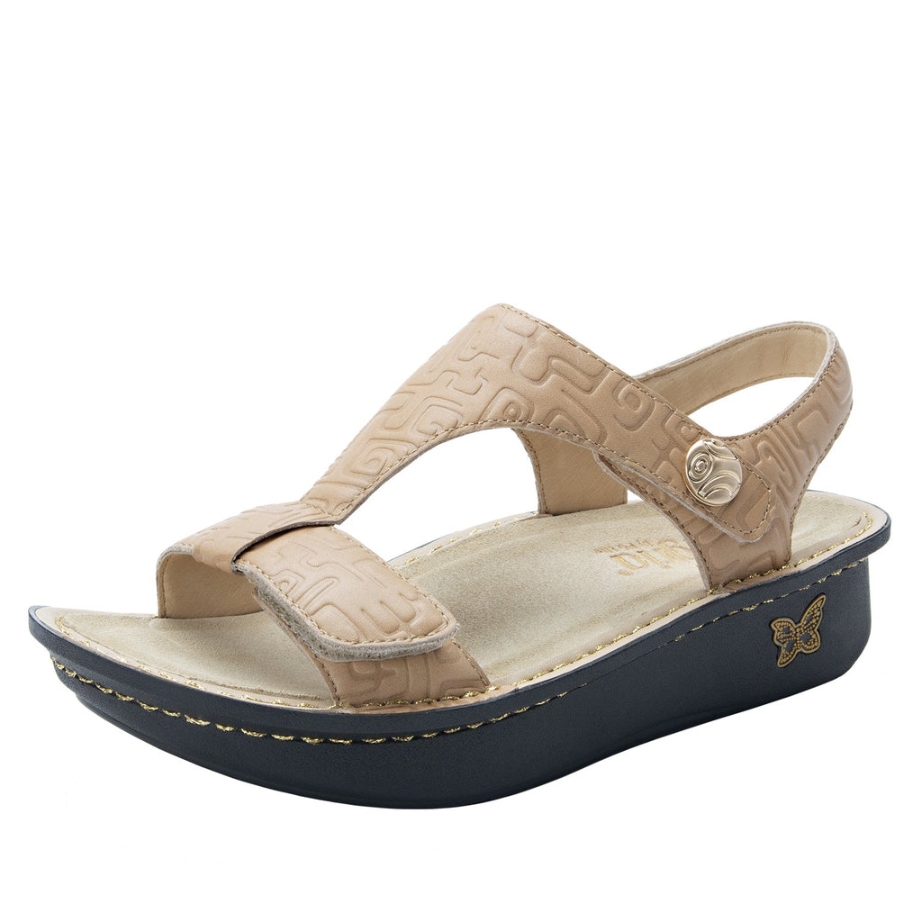 Kerri Basically Amazing t-strap sandal on classic rocker outsole - KER-876_S1
