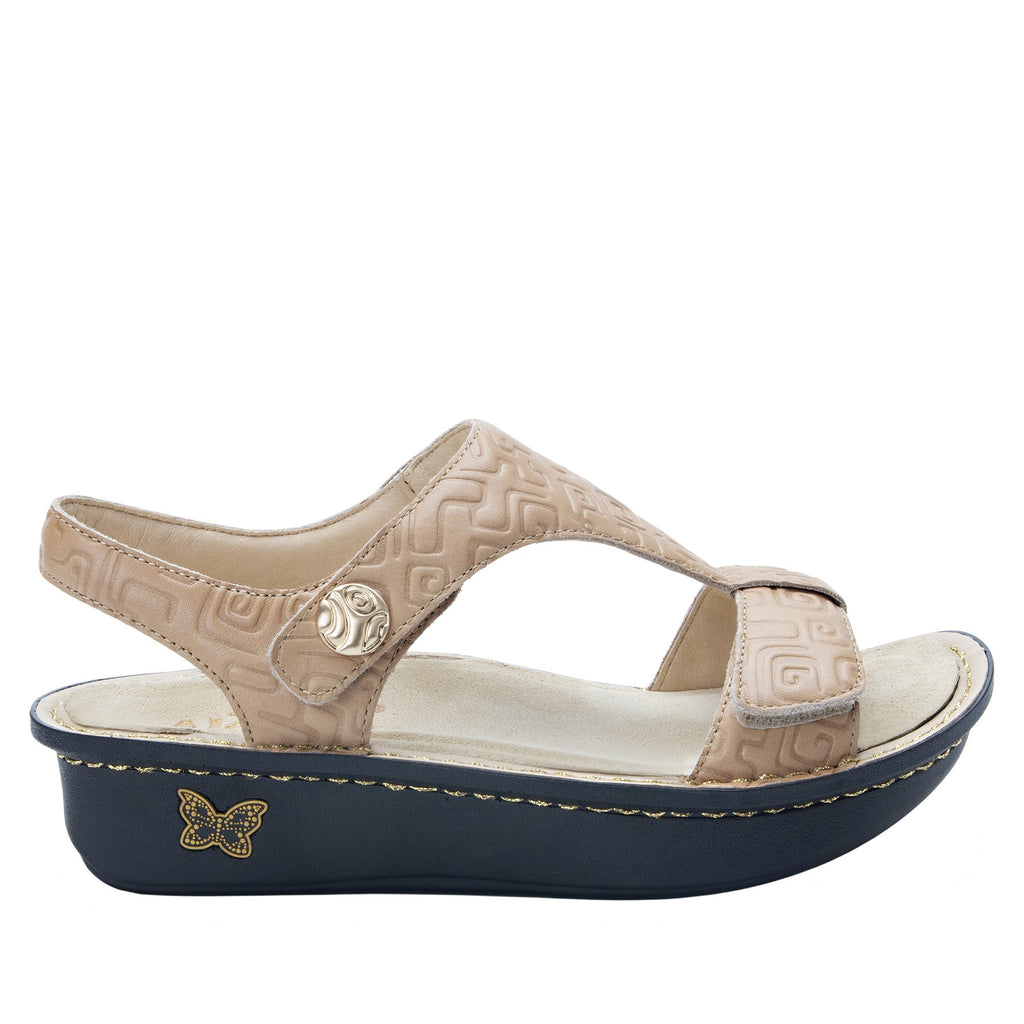 Kerri Basically Amazing t-strap sandal on classic rocker outsole - KER-876_S2