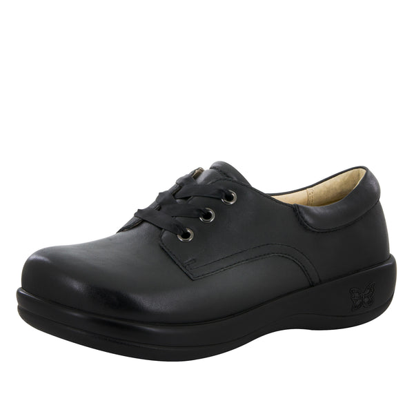 Kimi Black Nappa Professional Shoe - Alegria Shoes - 1