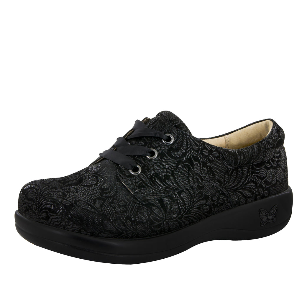 Kimi Black Leaf Professional Shoe - Alegria Shoes - 1 (8511978573)