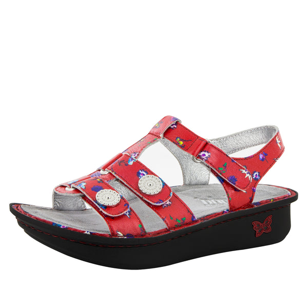 Kleo Red Buds Sandal