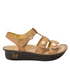 Kleo Basically Amazing Gladiator Sandal with three hook and loop closure on Classic rocker outsole - KLE-876_S2