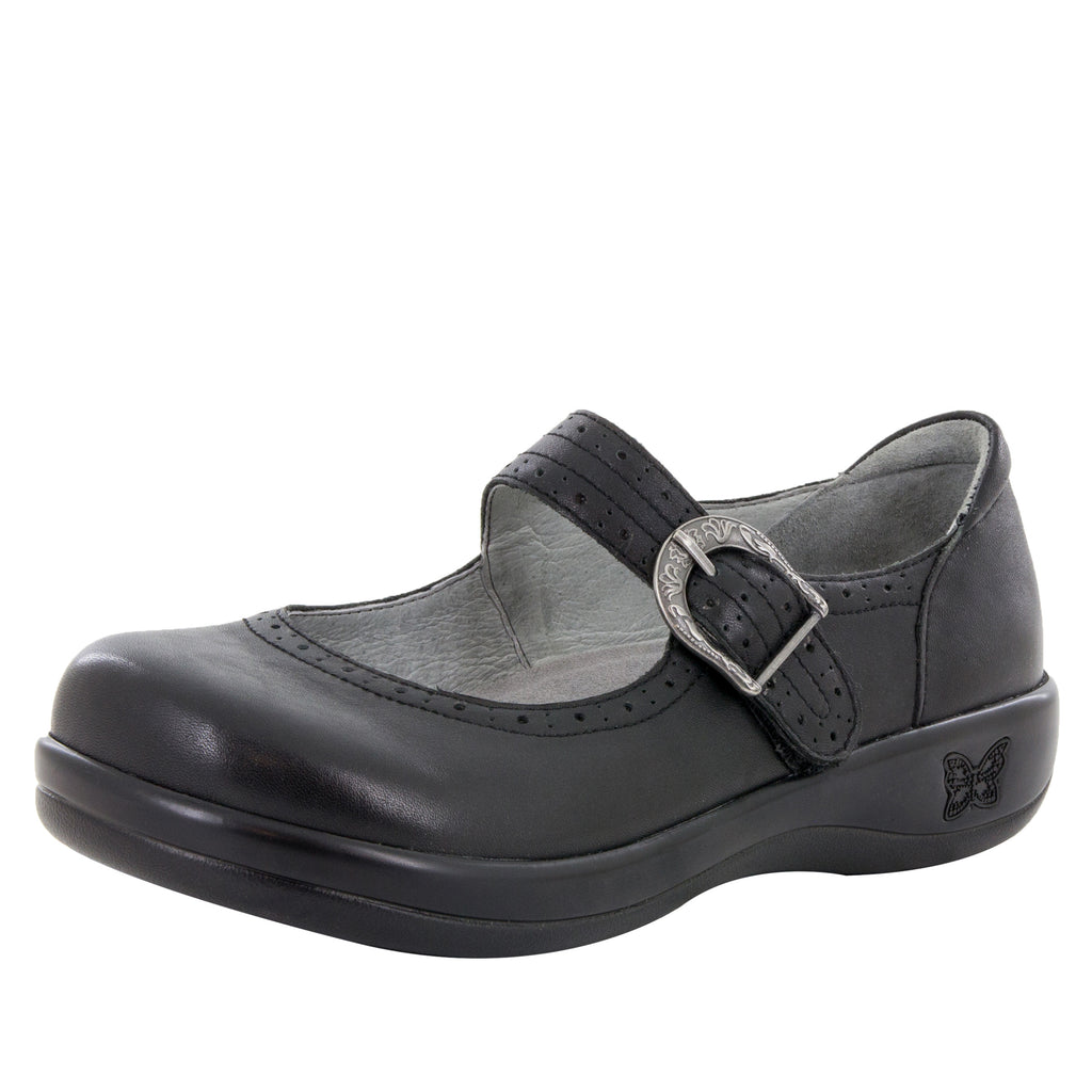 Kourtney Black Nappa Professional Shoe (10433584781)