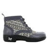 Kylie Snuggy Grey Boot - Alegria Shoes - 2