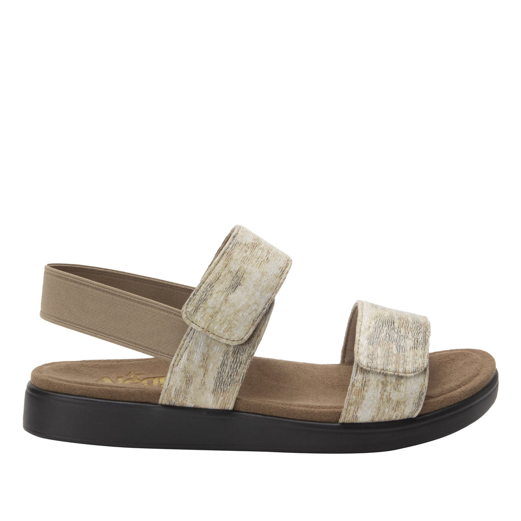 Leah Sands Comfort Flat sandal with two adjustable hook and loop closures and featherweight slip-resistance - LEA-7762_S3