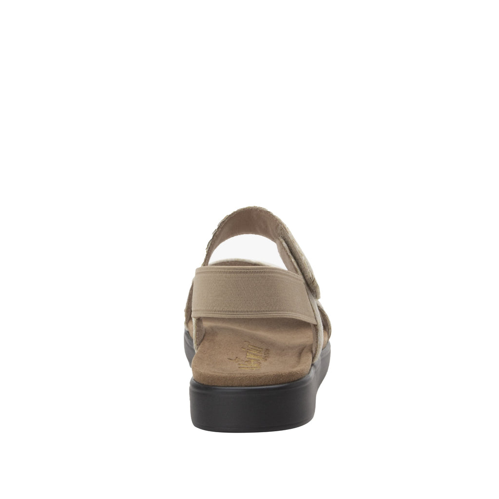 Leah Sands Comfort Flat sandal with two adjustable hook and loop closures and featherweight slip-resistance - LEA-7762_S4