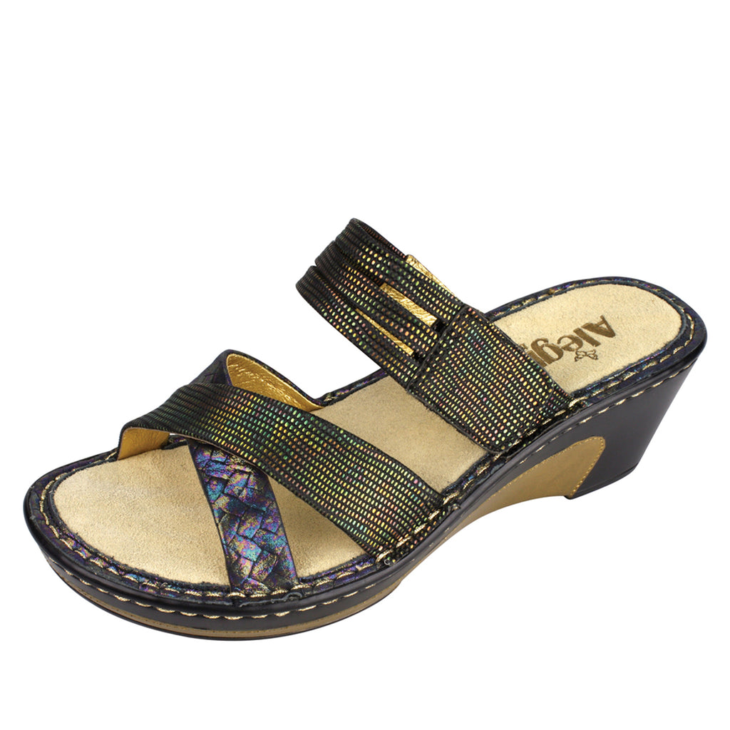 Leila Braidy Wedge - Alegria Shoes