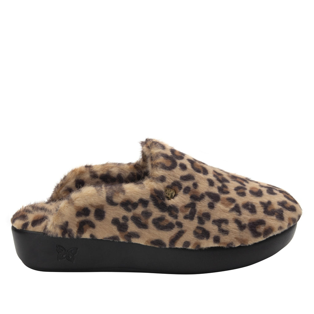 Leisurelee Leopard vegan shearling slipper - LEI-7903_S2