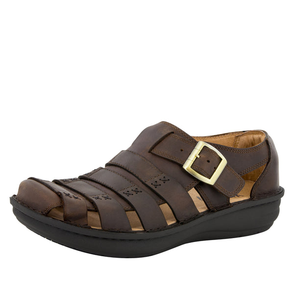 Alegria Men's Martinique Gravy Sandal - Alegria Shoes - 1