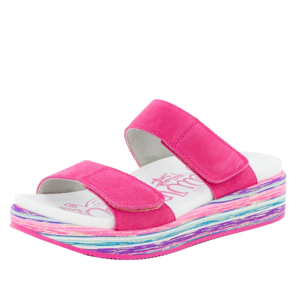 Mixie Fuchsia Party Sandal