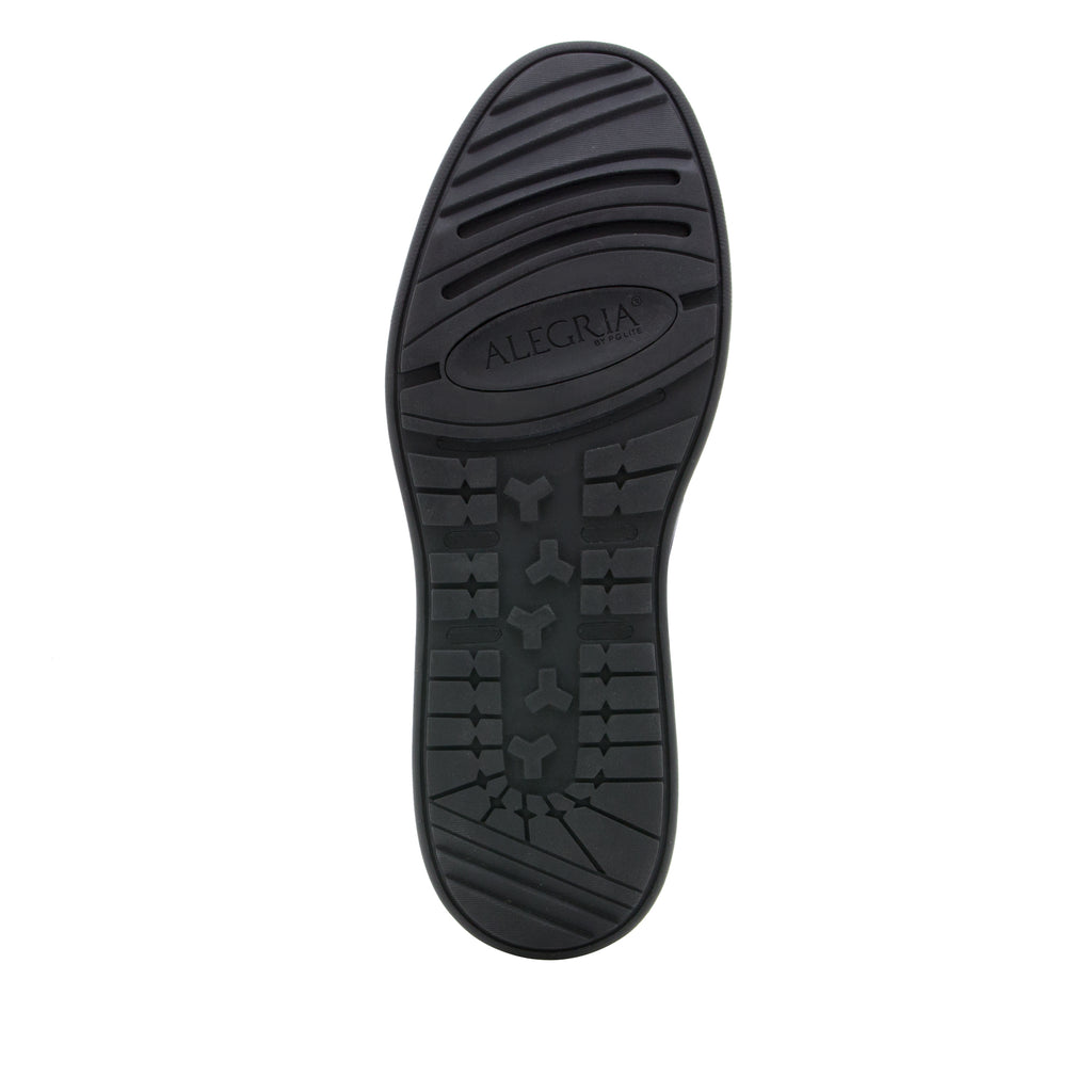Alegria Men's Moq Black Tumbled Shoe