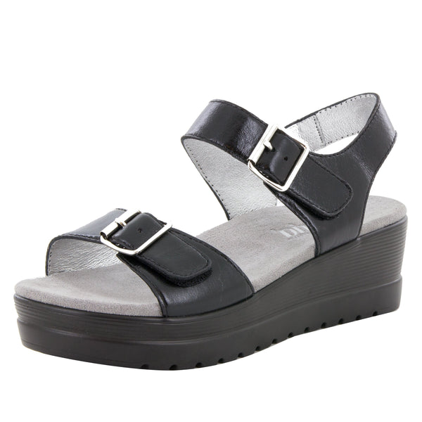 Morgyn Black Mirror Sandal