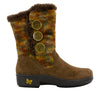 Nanook Pecan Fuzzy Boot - Alegria Shoes - 2