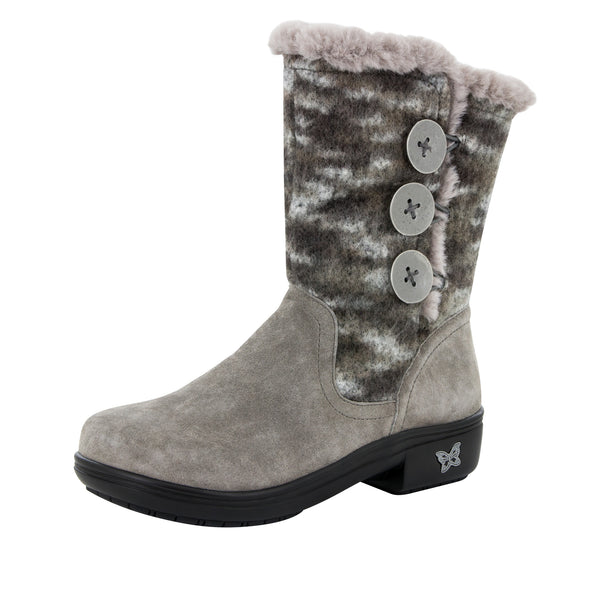 Nanook Flint Fuzzy Boot - Alegria Shoes - 1