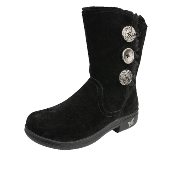 Nanook Black Licorice Suede Boot