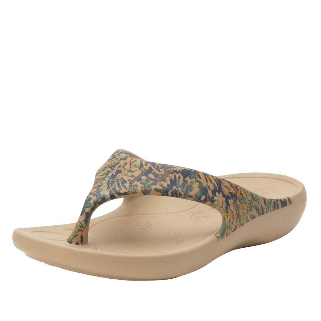 Ode Country Road EVA thong sandal on recovery rocker outsole - ODE-166_S1