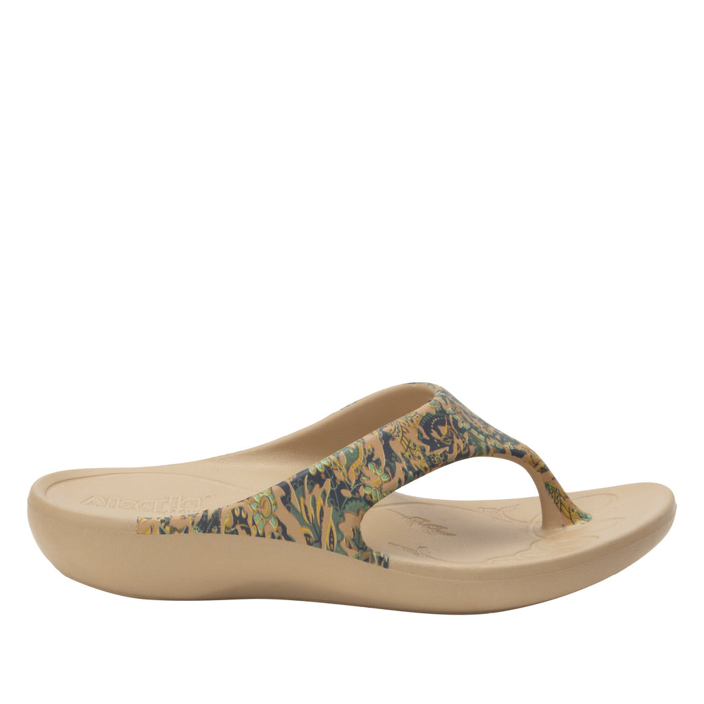 Ode Country Road EVA thong sandal on recovery rocker outsole - ODE-166_S3