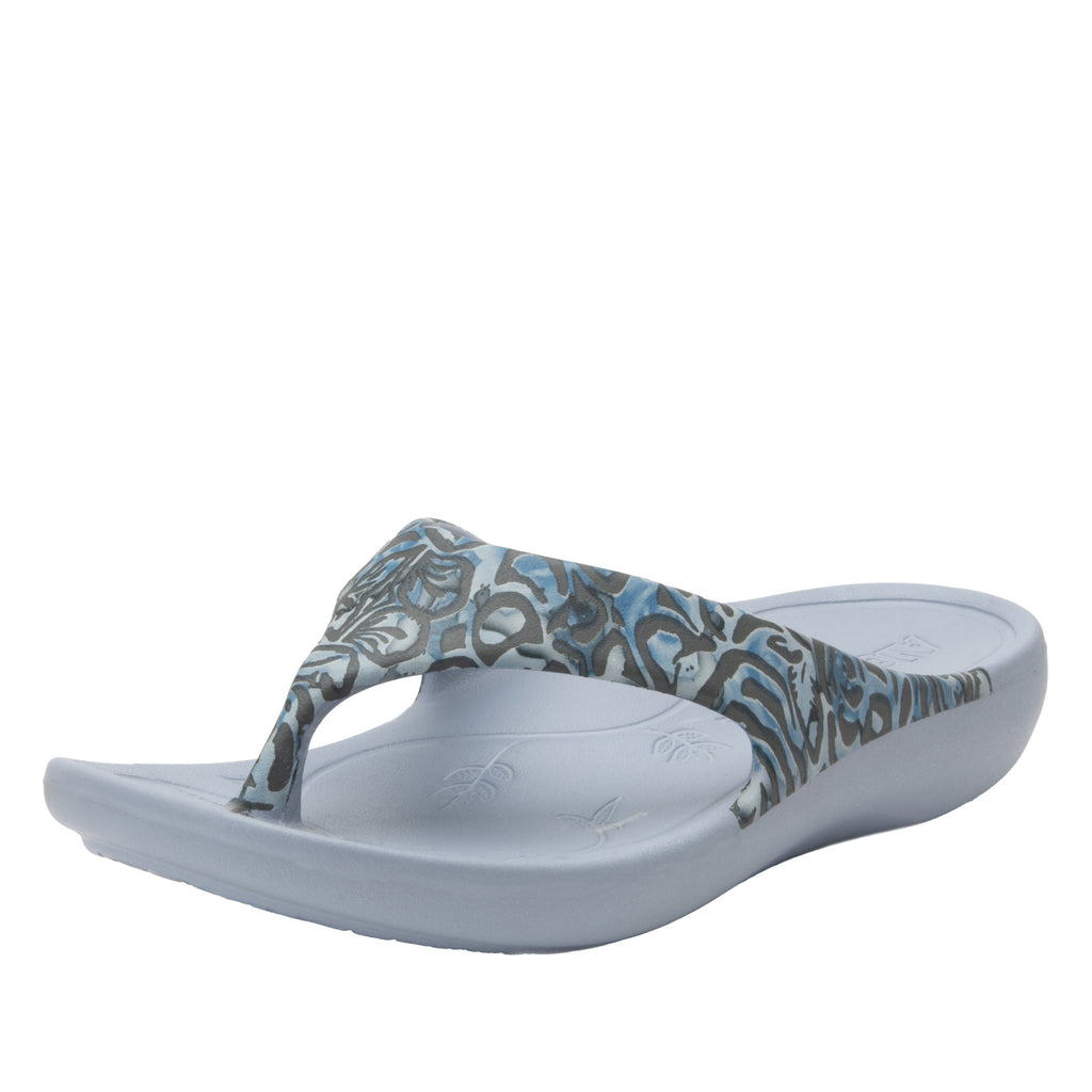Ode Casual Friday EVA thong sandal on recovery rocker outsole - ODE-194_S1