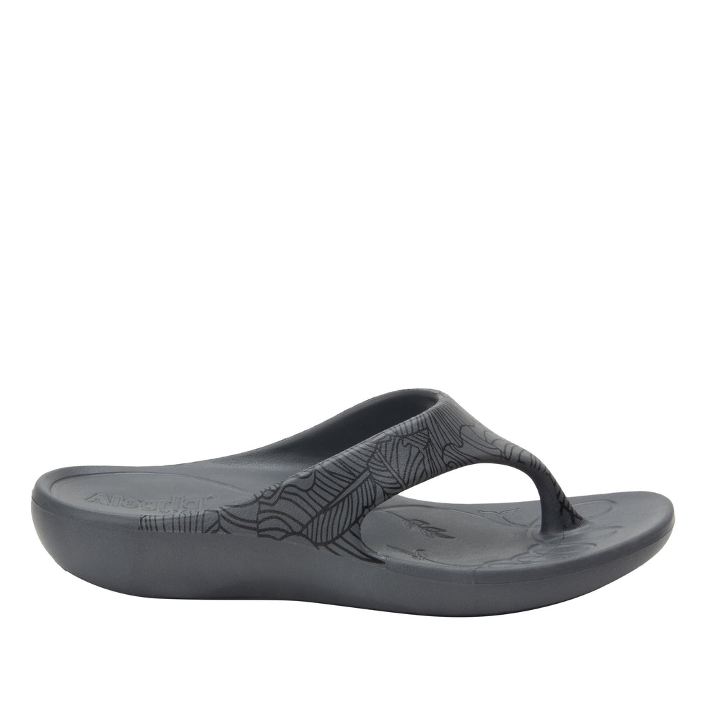 Ode Tobacco Smoke EVA thong sandal on recovery rocker outsole - ODE-520_S3
