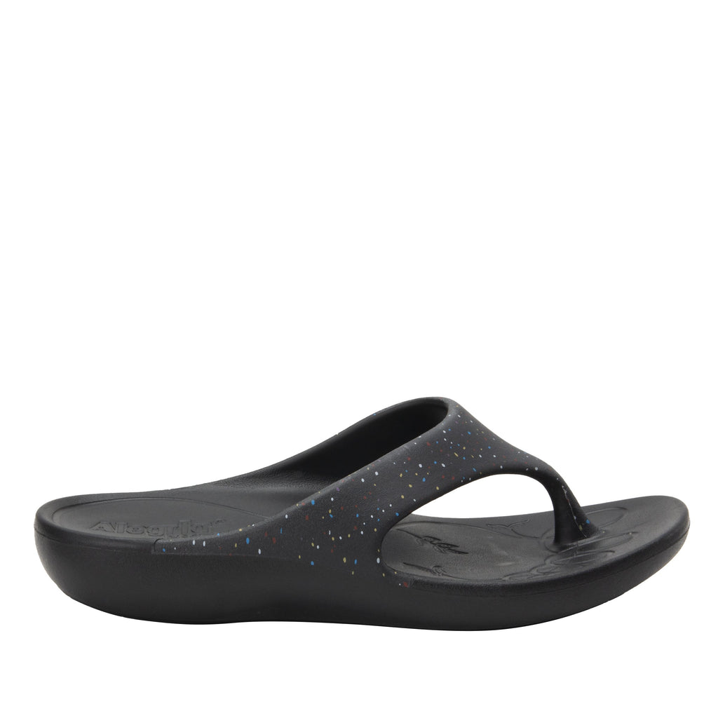 Ode Sprinkles EVA thong sandal on recovery rocker outsole - ODE-763_S2
