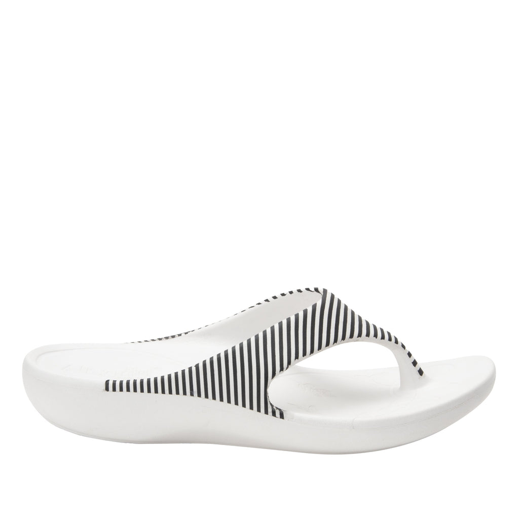 Ode Stripes EVA thong sandal on recovery rocker outsole - ODE-879_S3