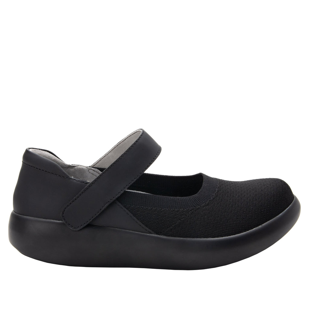 Olivia Black sleek rocker mary jane style shoe with non-flexing rocker outsole - OLI-101_S2
