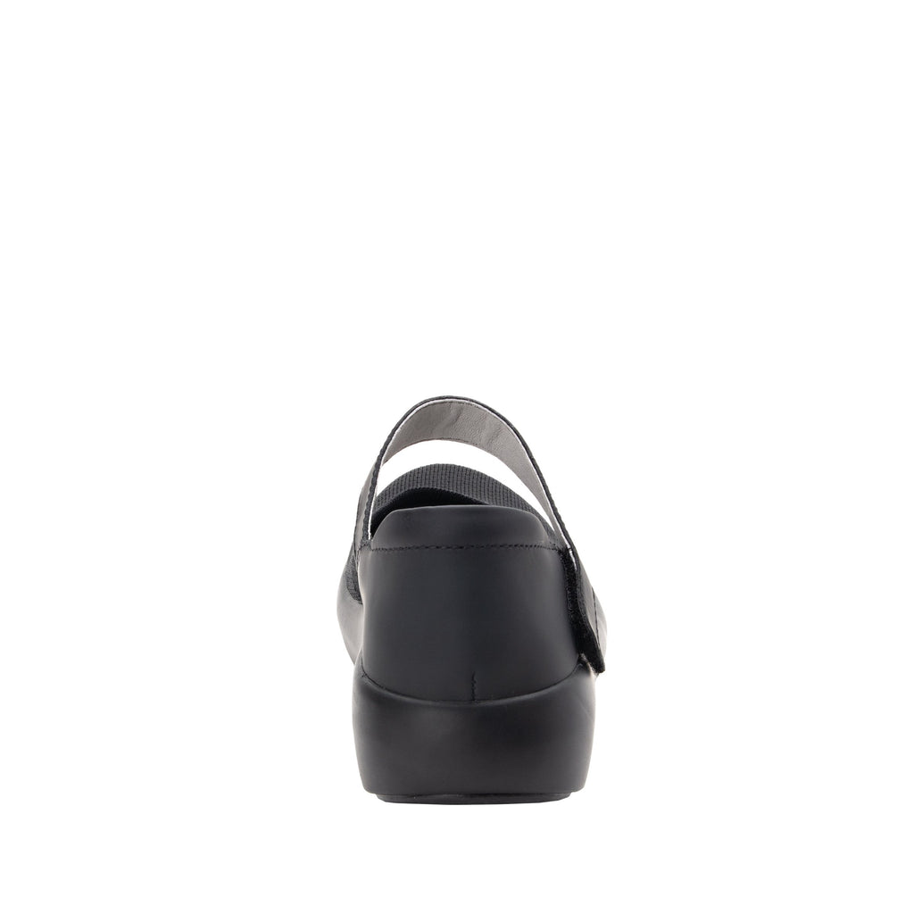 Olivia Black sleek rocker mary jane style shoe with non-flexing rocker outsole - OLI-101_S3