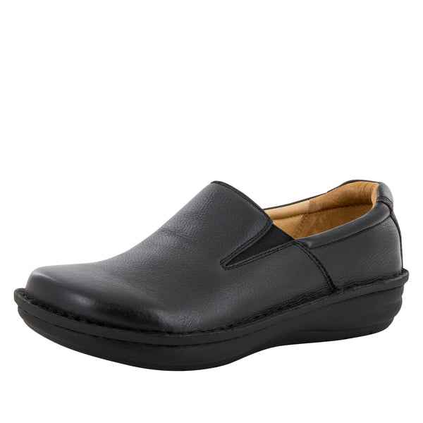 Alegria Men's Oz Black Tumbled Shoe - Alegria Shoes