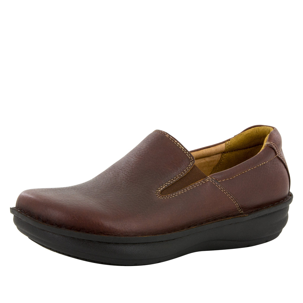Alegria Men's Oz Choco Wax Tumbled Shoe - Alegria Shoes