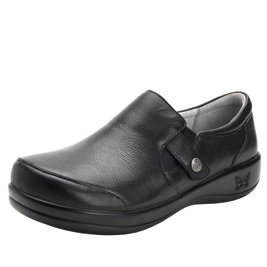 Paityn Upgrade slip on style shoe with leather detailing and career casual outsole - PAI-161_S1