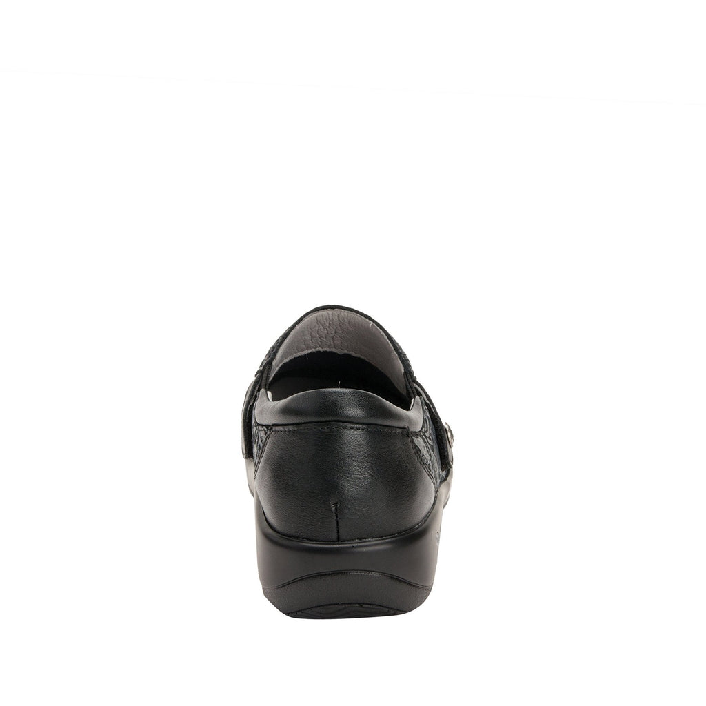 Paityn Pewter Swish slip on style shoe with contrast leather detailing and career casual outsole - PAI-185_S3